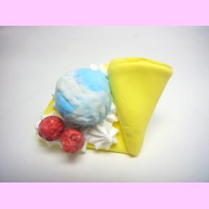 マーブルアイス いちごのせクレープ