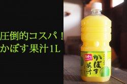かぼす果汁 業務用1000mlペットボトル
