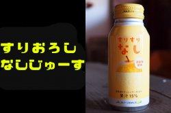 すりすりなし 梨果汁15% 190gボトル缶×30本入