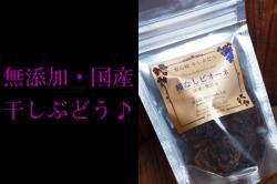 無添加・国内産レーズン(干しぶどう)35g