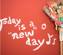 Today is a new day ♪♪