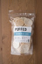 PUFFED (有機玄米せんべい)