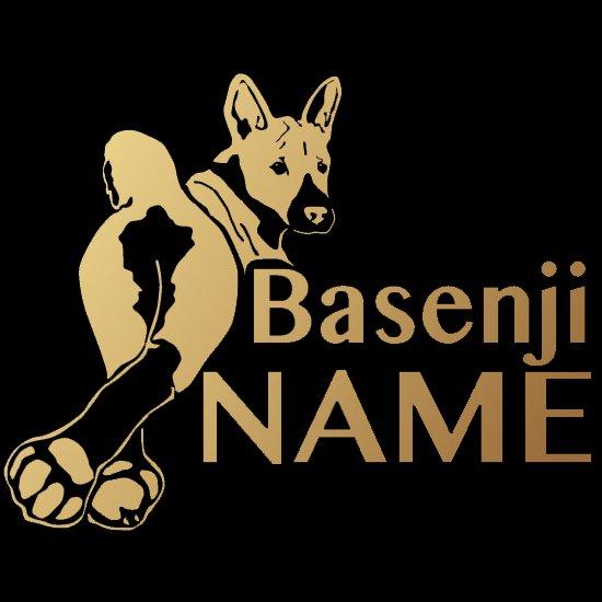 バセンジー|カスタムオーダーカッティングステッカー