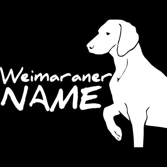 ワイマラナー|カスタムオーダーカッティングステッカー