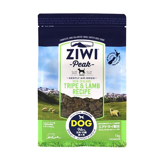 ZiwiPeak トライプ/ラム 1kg<img class='new_mark_img2' src='//img.shop-pro.jp/img/new/icons5.gif' style='border:none;display:inline;margin:0px;padding:0px;width:auto;' />