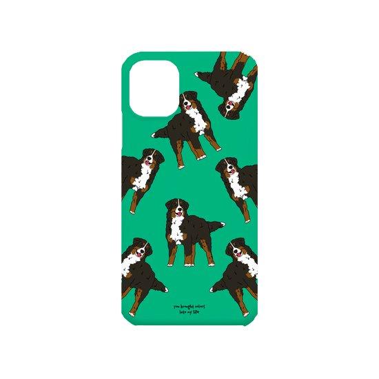 iPhoneケース(バーニーズマウンテンドッグ)