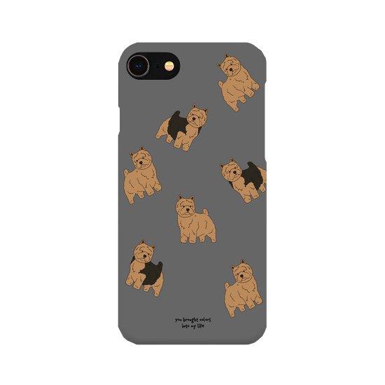 iPhoneケース(ノーリッチテリア)