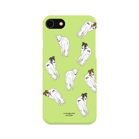 iPhoneケース(ボルゾイ)