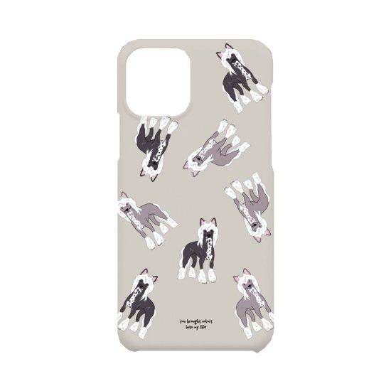 iPhoneケース(チャイニーズ・クレステッド・ドッグ)