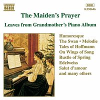 <img class='new_mark_img1' src='https://img.shop-pro.jp/img/new/icons58.gif' style='border:none;display:inline;margin:0px;padding:0px;width:auto;' />The Maiden's Prayer - Leaves from Grandmother's Piano Album 〜おばあちゃんのピアノ・アルバムより