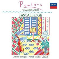 プーランク:ピアノと木管のための作品集 ロジェ(p)、ガロワ(fl)、他