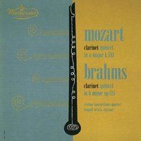 モーツァルト&ブラームス:クラリネット五重奏曲 ウラッハ(cl)他