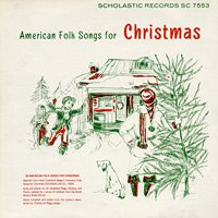 The Seeger Sisters / American Folk Songs for Christmas [CD-R]