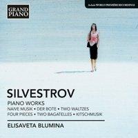 シルヴェストロフ:ピアノ作品集 ブルーミナ(p)