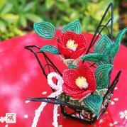 ビーズフラワーキット 藪椿 -鶴舞-