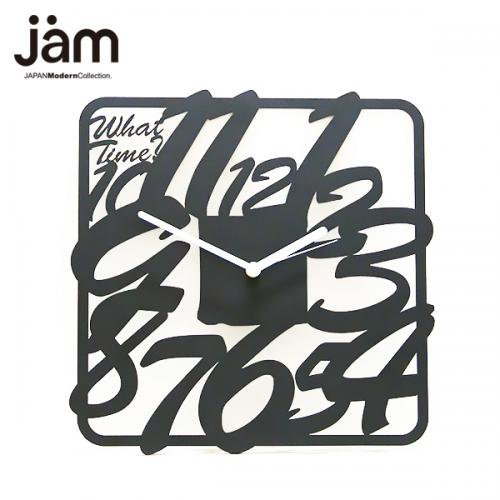 What Time? (Square)【JAM CLOCK 03 Series】