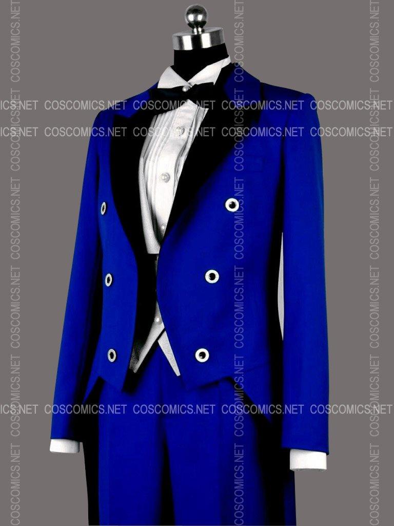 ここみねっと。オリジナル 燕尾服(フロックコート)★ブルー[受注生産]