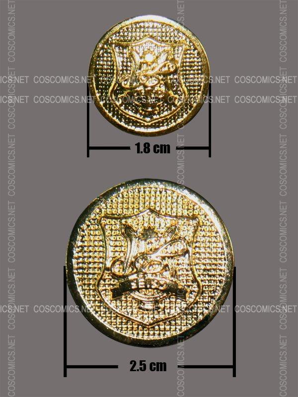 金色のコルダ 星奏制服ボタン[受注生産]