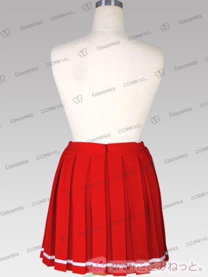 ここみねっと。オリジナル制服 全132色16ボックスプリーツスカート(ライン入/赤系)[受注生産]|コスプレ 衣装 通販 ここみねっと。