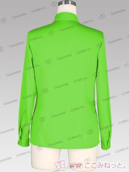 コスプレ 衣装 通販 ここみねっと。|コスプレ 衣装★【受注生産】ここみねっと。オリジナル制服 全132色レディースシャツ(長袖/緑系01)