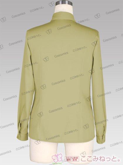 ここみねっと。オリジナル制服 全132色レディースシャツ(長袖/ベージュ)[受注生産]