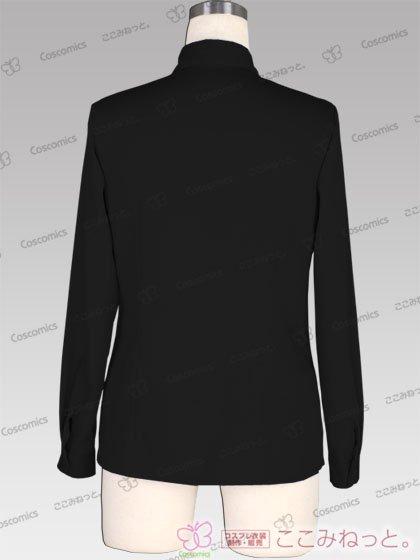 ここみねっと。オリジナル制服 全132色レディースシャツ(長袖/白・黒)[受注生産]