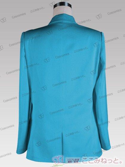 ここみねっと。オリジナル制服 全132色メンズブレザー(シングルボタン/水色)[受注生産]