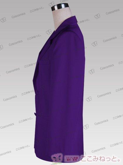ここみねっと。オリジナル制服 全132色メンズブレザー(シングルボタン/紫系)[受注生産]