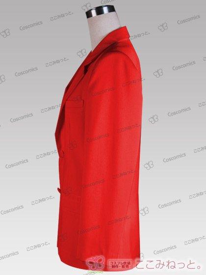 ここみねっと。オリジナル制服 全132色メンズブレザー(シングルボタン/赤系)[受注生産]