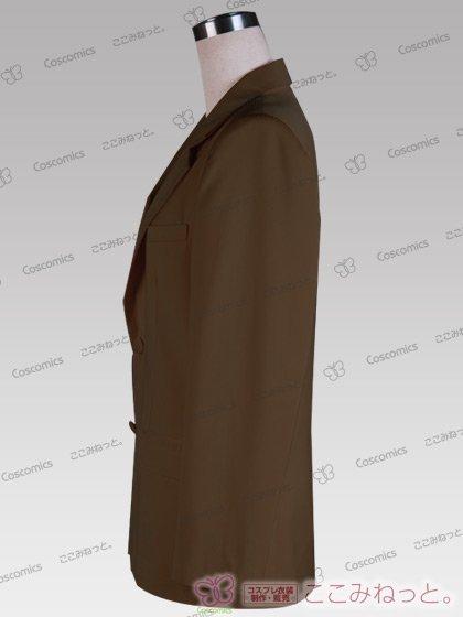 ここみねっと。オリジナル制服 全132色メンズブレザー(シングルボタン/茶色02)[受注生産]