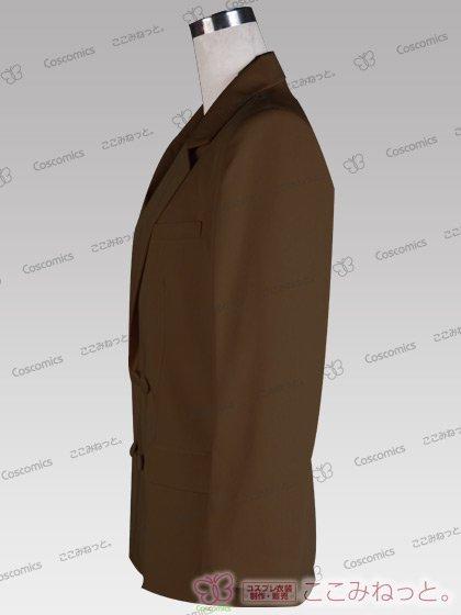 ここみねっと。オリジナル制服 全132色メンズブレザー(ダブルボタン/茶色02)[受注生産]