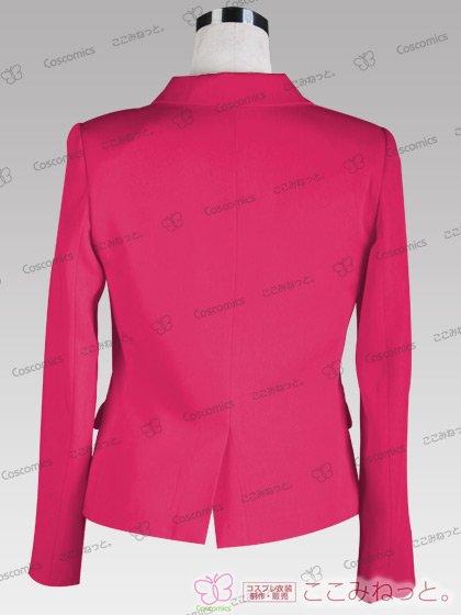 ここみねっと。オリジナル制服 全132色レディースブレザー(シングルボタン/ピンク)[受注生産]
