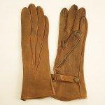 A0350 1950年代イギリス製DENT'Sタンレザーベルト手袋