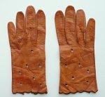 """A0358 1960年代フランス製""""LANDEL FRENCH"""" キッドレザー手袋"""