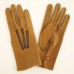A0365 1950年代アメリカ製MEN'Sタンレザー手袋