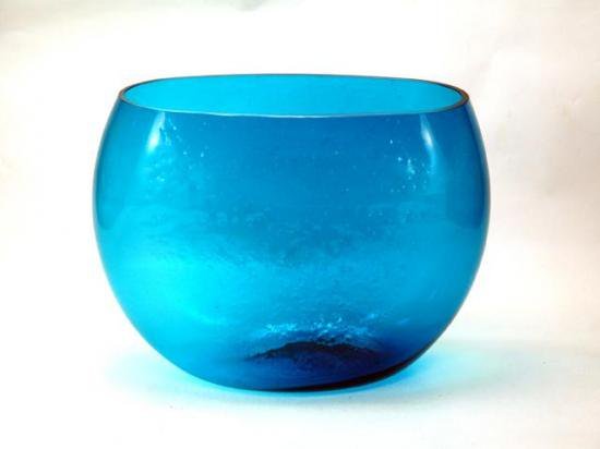BLENKO GLASS VASE Desgined by Winslo...