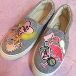 <img class='new_mark_img1' src='//img.shop-pro.jp/img/new/icons50.gif' style='border:none;display:inline;margin:0px;padding:0px;width:auto;' />Deco Slip-on Sneakerデコスリッポンスニーカー(Grey)24〜24.5