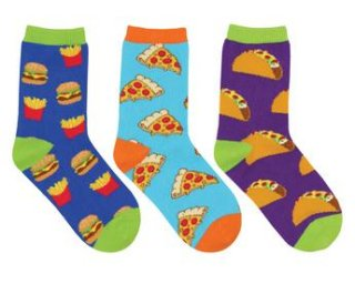 "<img class='new_mark_img1' src='//img.shop-pro.jp/img/new/icons4.gif' style='border:none;display:inline;margin:0px;padding:0px;width:auto;' />Sock Smith<br>【Kids】Novelty crew ""Yummy in my Tummy"""