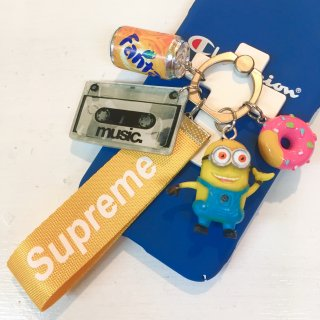 <img class='new_mark_img1' src='//img.shop-pro.jp/img/new/icons4.gif' style='border:none;display:inline;margin:0px;padding:0px;width:auto;' />Phone Ringバンカーリング(Minion with banana)