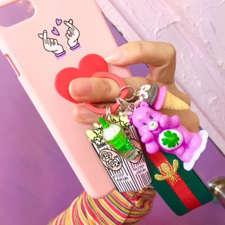 <img class='new_mark_img1' src='//img.shop-pro.jp/img/new/icons4.gif' style='border:none;display:inline;margin:0px;padding:0px;width:auto;' />Phone Ringバンカーリング(CareBear)