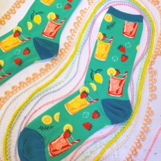 <img class='new_mark_img1' src='//img.shop-pro.jp/img/new/icons4.gif' style='border:none;display:inline;margin:0px;padding:0px;width:auto;' />Sock Smith(ソックスミス)<br>Easy Peasy Lemon Squeezy