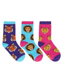"""<img class='new_mark_img1' src='https://img.shop-pro.jp/img/new/icons4.gif' style='border:none;display:inline;margin:0px;padding:0px;width:auto;' />Sock Smith<br>【Kids】Novelty crew """"Wild Child"""""""