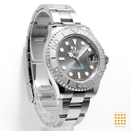 quality design 71e29 3b936 ロレックス 268622 ヨットマスター 37 ダークロジウム ユニセックス 2016年発表モデル -  ロレックス・ウブロ等のメンズ・レディース腕時計の通販なら松田宝飾