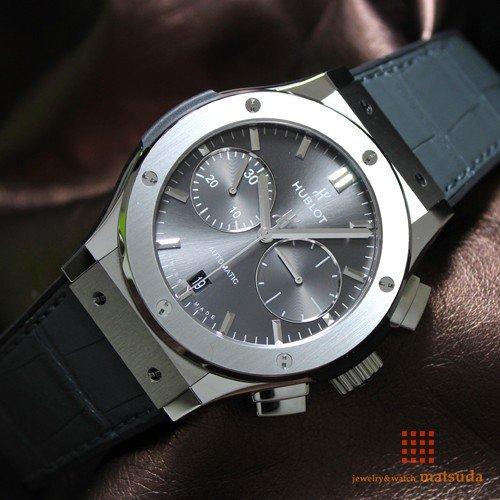 purchase cheap 1ee34 37e11 ウブロ クラシックフュージョン クロノグラフ 521.NX.7071.LR 2016年発表モデル -  ロレックス・ウブロ等のメンズ・レディース腕時計の通販なら松田宝飾