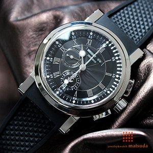 finest selection d32c5 5451c ブレゲ マリーン クロノグラフ 5823PT/H2/5ZU マリーン200周年アニバーサリー 世界限定200本 生産終了モデル