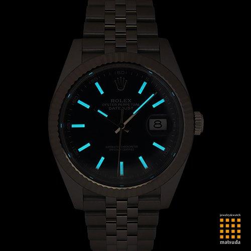 premium selection 6cd6f 1db32 ロレックス 126334 デイトジャスト41 ブルー ジュビリーブレス