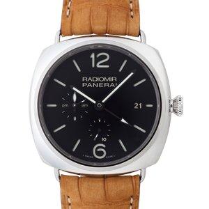 newest 47009 5b422 パネライ ラジオミール 10デイズ GMT PAM00323 - ロレックス・ウブロ等のメンズ・レディース腕時計の通販なら松田宝飾