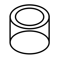 オーダーメイド円柱水槽