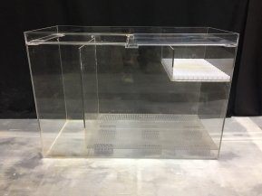 中古濾過槽  W630xD300xH400(mm)
