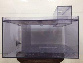 【未使用!】塩ビ製濾過槽 W600×D380×H320mm【アウトレット品】